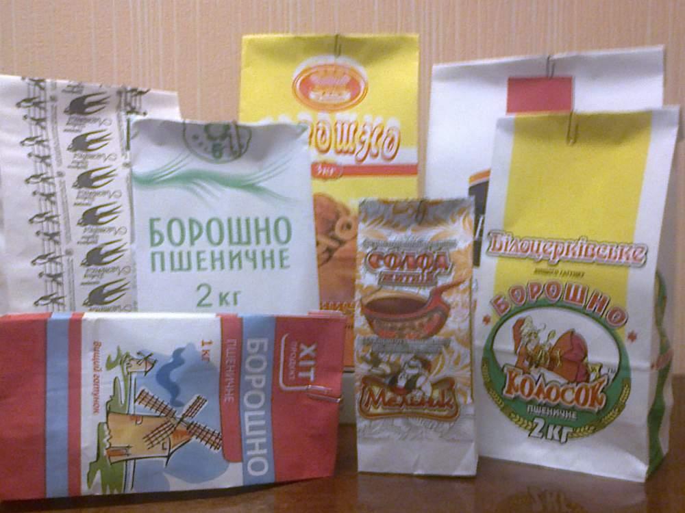 бумажные упаковочные пакеты для продуктов