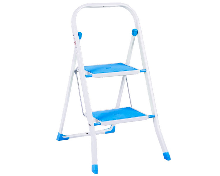 Buy Step-ladder with overlays SUPERMAX COLOR 2 Eurogold 2122R 2 steps