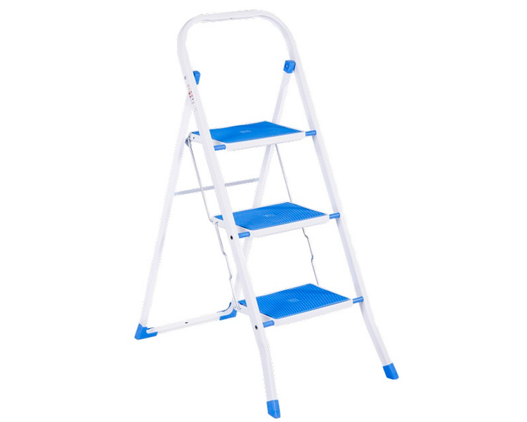 Buy Step-ladder with overlays SUPERMAX COLOR 3 Eurogold 2123R 3 steps