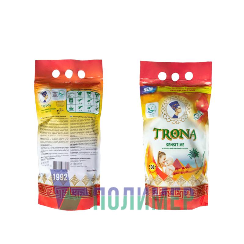 Купити 0,5 кг TRONA Sensitive (Дитячий) Порошок пральний безфосфатний