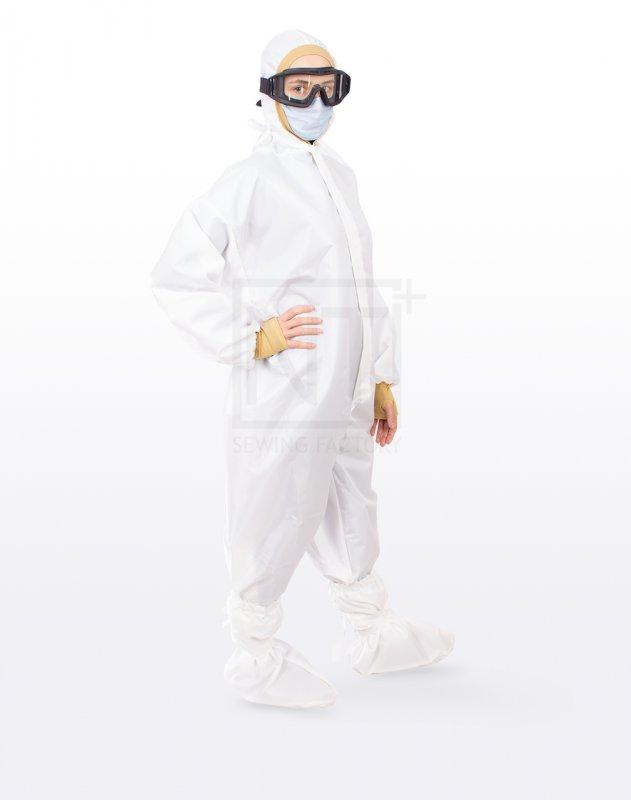 Купить Костюм медицинский защитный, многоразовый, водонепроницаемый.