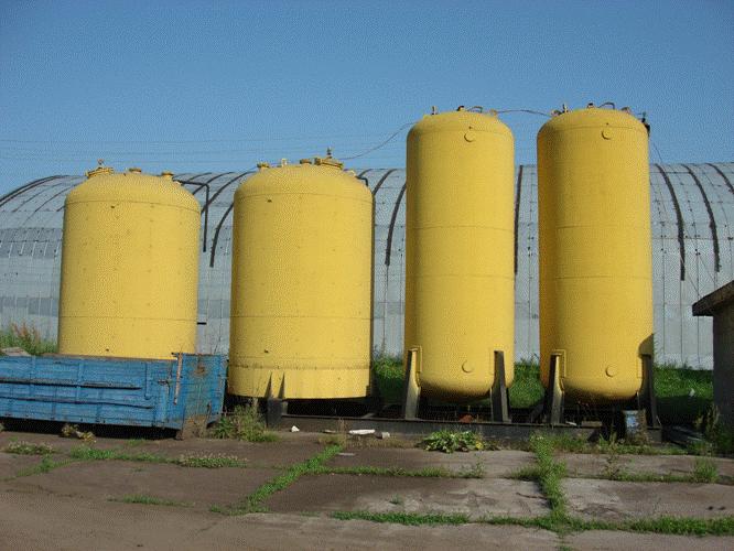 Купить Купить емкости эмалированные на 25м.куб. вертикальные. Украина