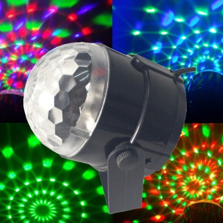 Купить Светомузыка - диско шар Led Party Light