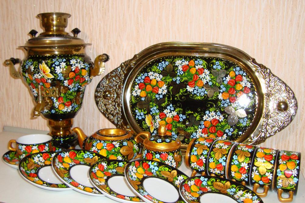 Комплект чайный из 16-ти предметов, № 16