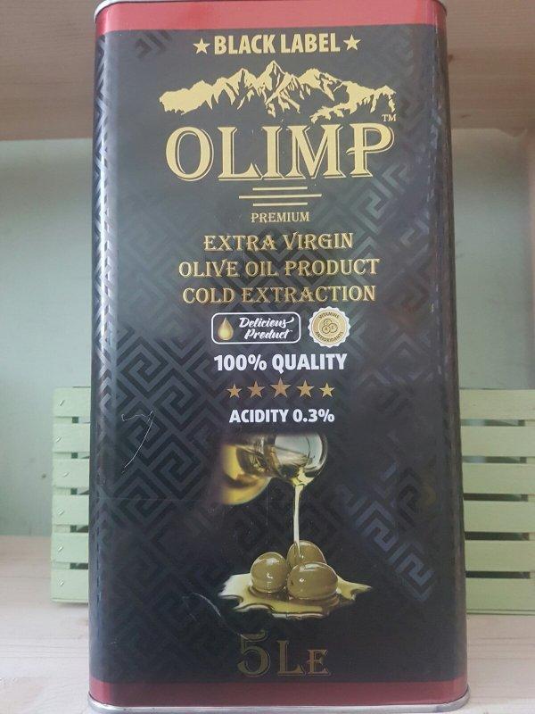 Купить Масло оливковое Olimp Black Label 5л