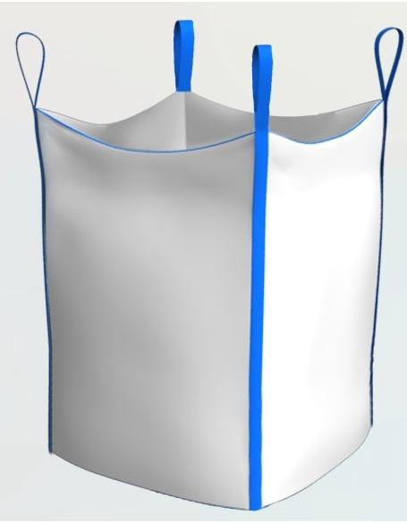 Big-bag chetyrehstropnyj çanta, kemer