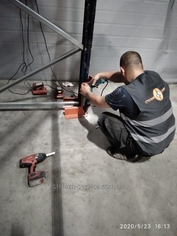 Анкер HSA M12x115 Hilti для крепления Стеллажной конструкии к полу...