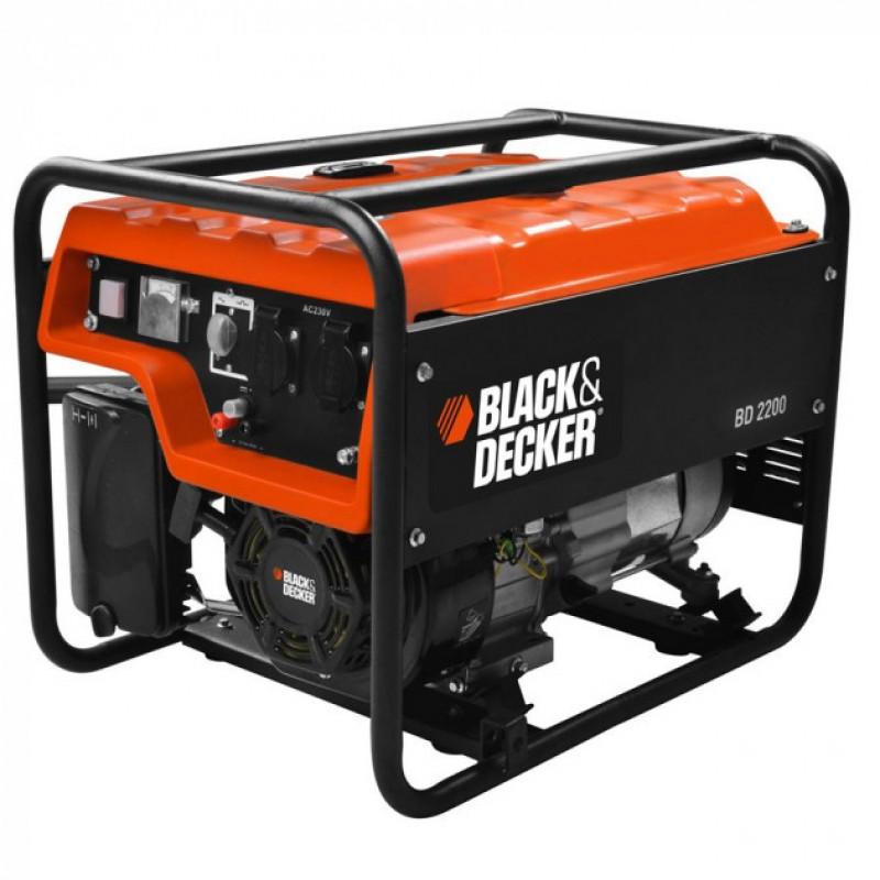 Купить Генератор бензиновый Black&Decker BD2200