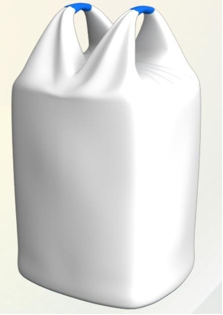 Полипропиленовые мешки Биг-Бег,  двухстропные - ручки из тела контейнера. ЭКСПОРТ