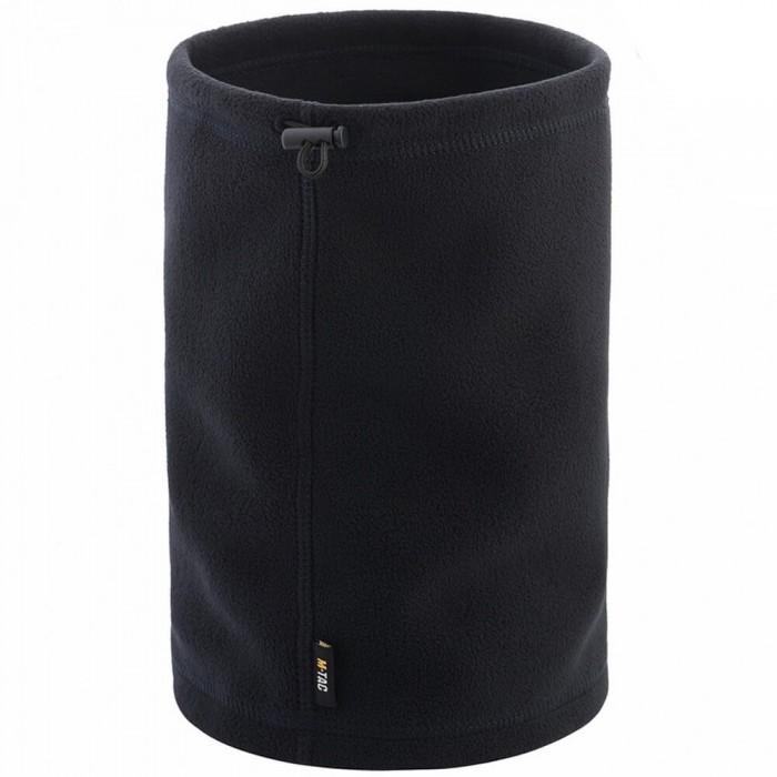 Купить M-Tac шарф-труба короткий с затяжкой флис Elite dark navy blue