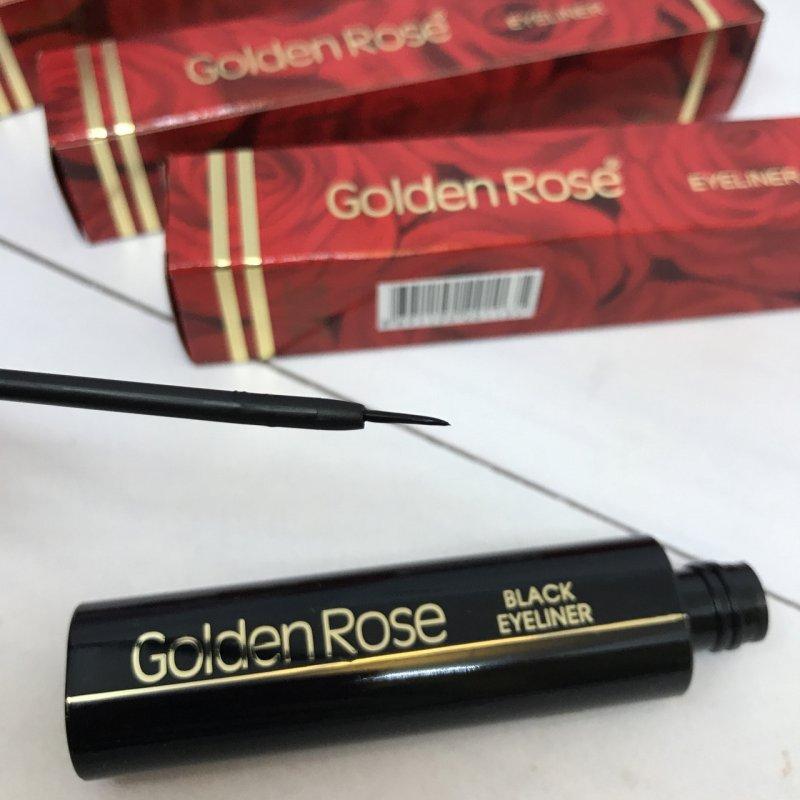 Купить Подводка для глаз Golden Rose Black Eyeliner
