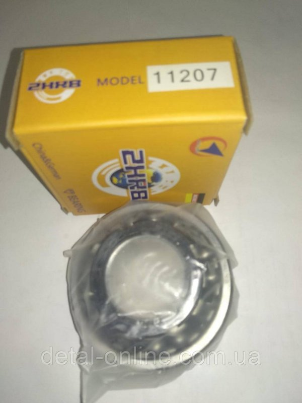 Купить 11207 Подшипник шариковый 11207К (1208К+Н208) (NOBEL)
