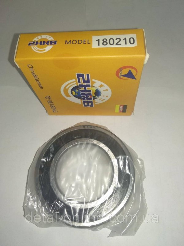 Купить 180210 Подшипник шариковый 6 С17 (6210-2RS) (NOBEL)