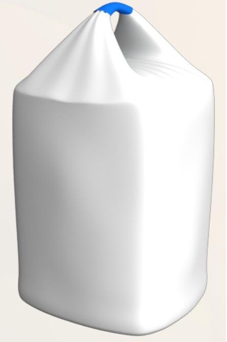 Мешок биг-бег полипропиленовый одностропный с вкладышем с первичного полиэтилена