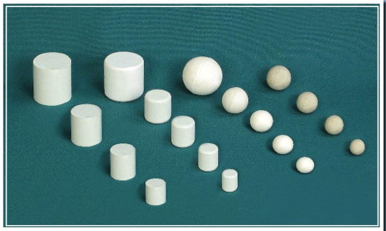 Купить Тела мелющие фарфоровые (ТУ 21-150-98)