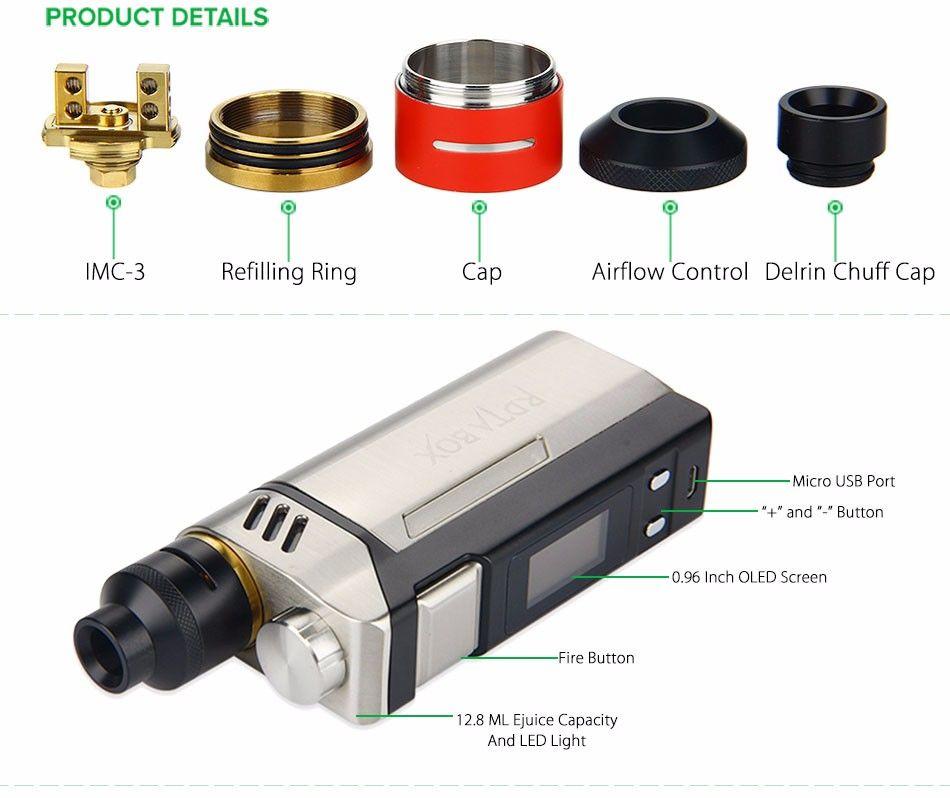 Купить Электронная сигарета IJOY RDTA BOX Kit 200 W (ТС)
