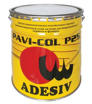 Купить Клей для паркета, паркетный клей PAVI-COL P25Однокомпонентний каучуковий клей