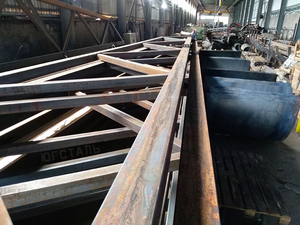 Купити Ферми металеві, сталеві ферми кроквяні, арочні