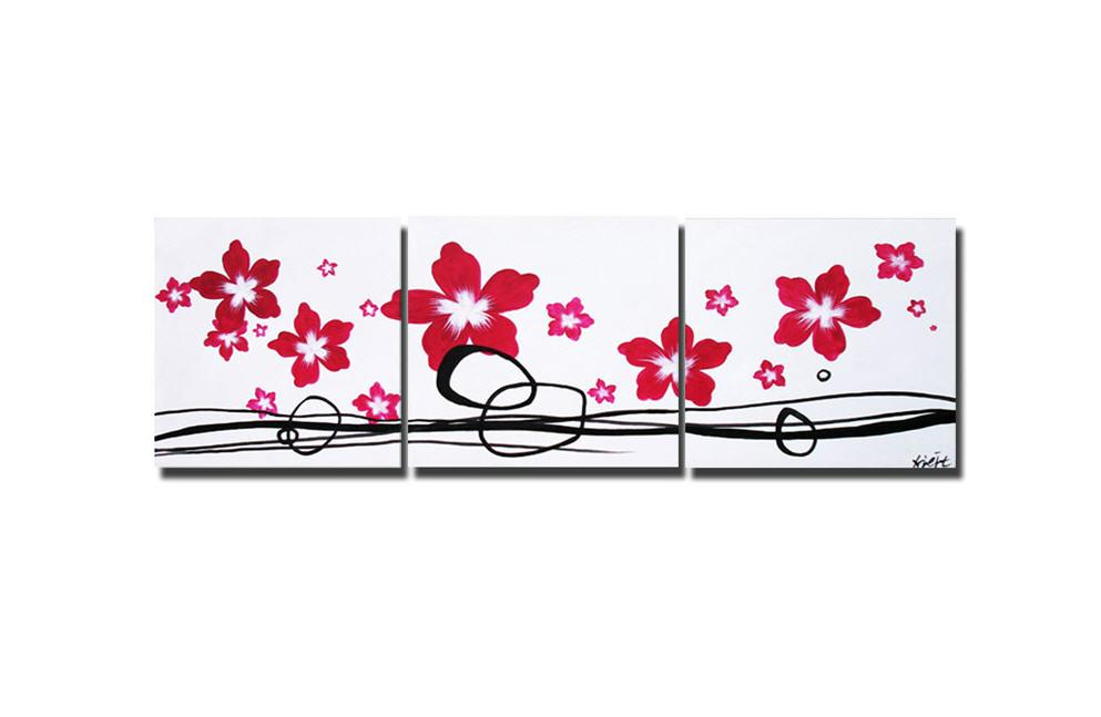 Картины в интерьер, ручная работа Сегментированные картины Код товара: 1059, Цветы - сегментированные картины, Современные картины с цветами