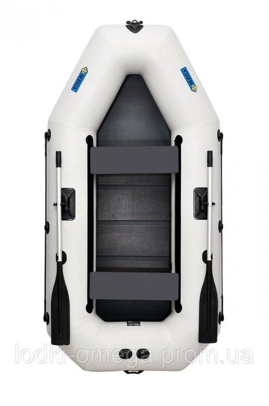 Купить Лодка пвх надувная гребная двухместная ΩMega 260LS PS