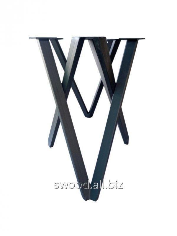 Купить Опора Четыре треугольника для стола металлическая