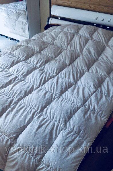 Купить Одеяло двуспальное Евро 200х220см/Одеяло с гусиным пух пером 100%/Одеяло Олександро/Ковдра з гусячим пух пером