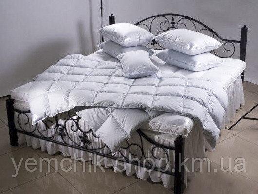 Купить Одеяло двуспальное 172х210см/Одеяло с гусиным пух пером 50%/Одеяло Олександро/Ковдра з гусячим пух пером