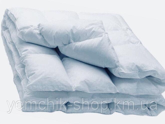 Купить Одеяло двуспальное Евро 200х220см/Одеяло с гусиным пух пером 50%/Одеяло Олександро/Ковдра з гусячим пух пером