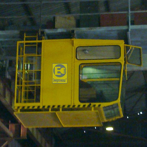 Buy Cabin crane production of LLC ZMK Energomash. Capture anticreeping on cranes to 50 t. Brake kolodochny TKT. The brake is crane. Cart of crane 10