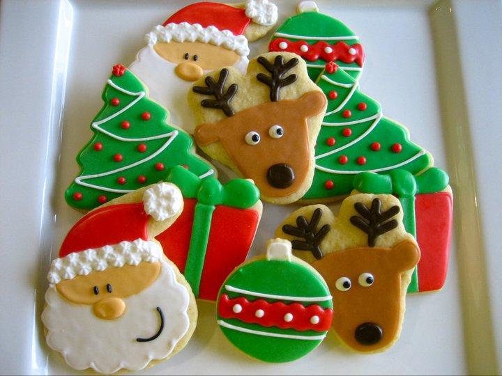 рождественские пряники с глазурью рецепт с фото