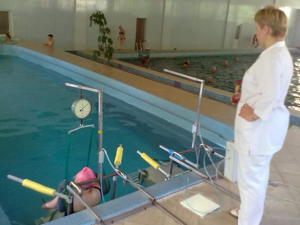 Универсальный аппарат подводного вытяжения позвоночника Альциона-01