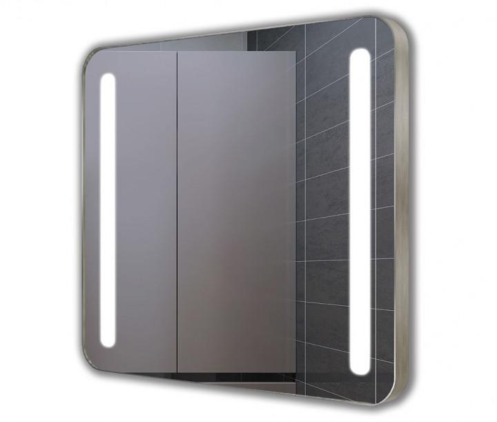 Купить Зеркало J-MIRROR Linda Inox 45х50 см с LED подсветкой (39455)