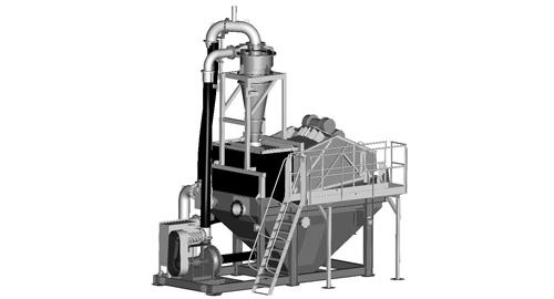 Купить Стационарная установка для очистки и обезвоживания песка Finesmaster 120 Compact
