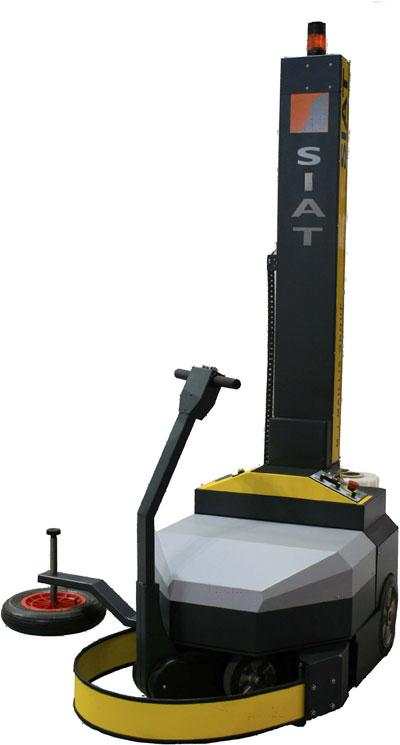 Купить Автономный аккумуляторный робот-паллетоупаковщик WR50 SIAT