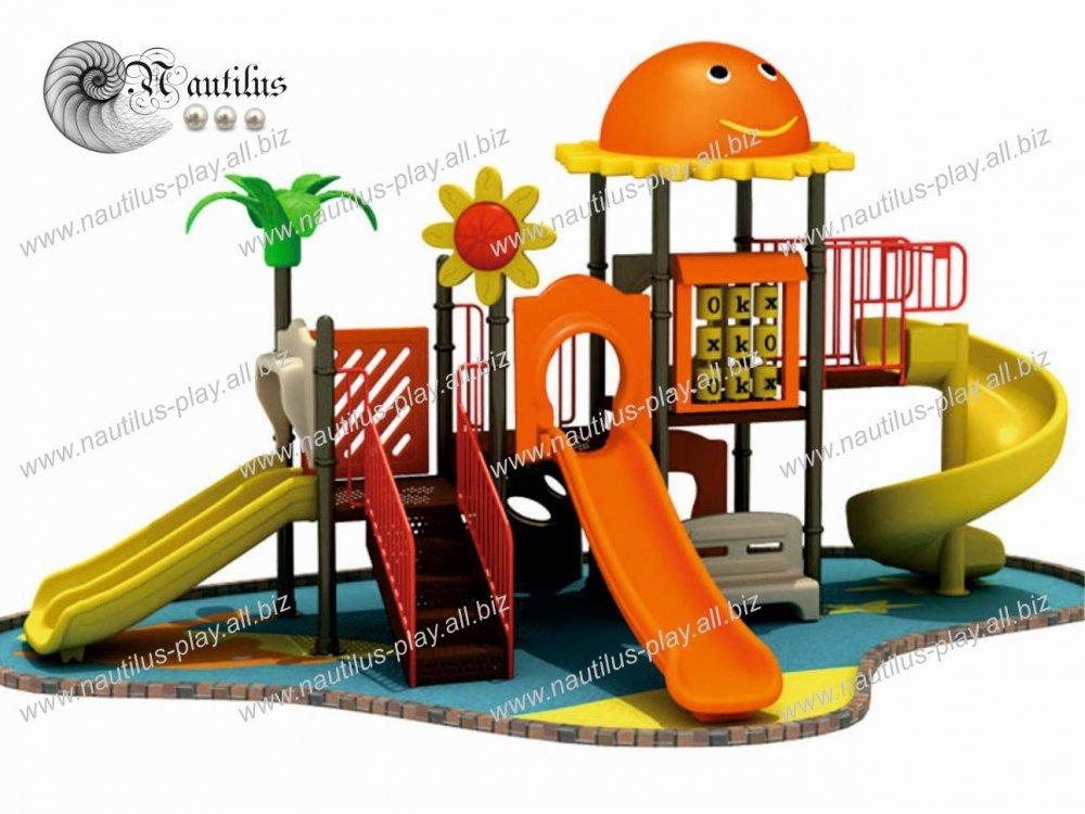 Купить Детские площадки из пластика