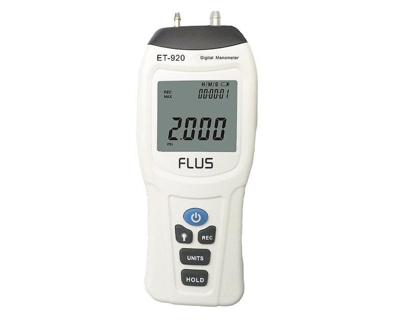 Купить Дифманометр FLUS ET-921