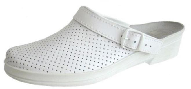 Купить Обувь для медиков и пищевой промышленности: САБО МЕДИЦИНСКИЕ кожаные с перфорацией ( ЗАКАЗ от 20 пар )