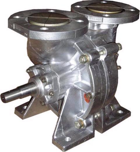Насос ВС-80 для бензовоза ГАЗ-52, ГАЗ-53, Насосы для перекачки жидкостей