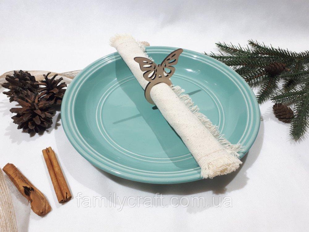 Купить Кольца для салфеток Бабочка сервировка стола
