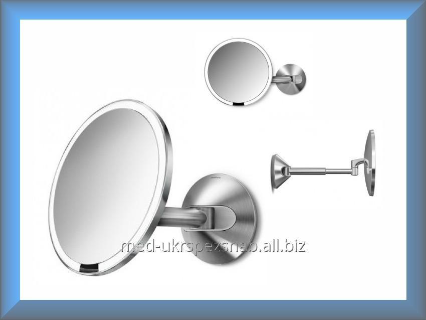 Купить Зеркало сенсорное круглое настенное 20 см ST3003 Simplehuman (увеличение 1x5)