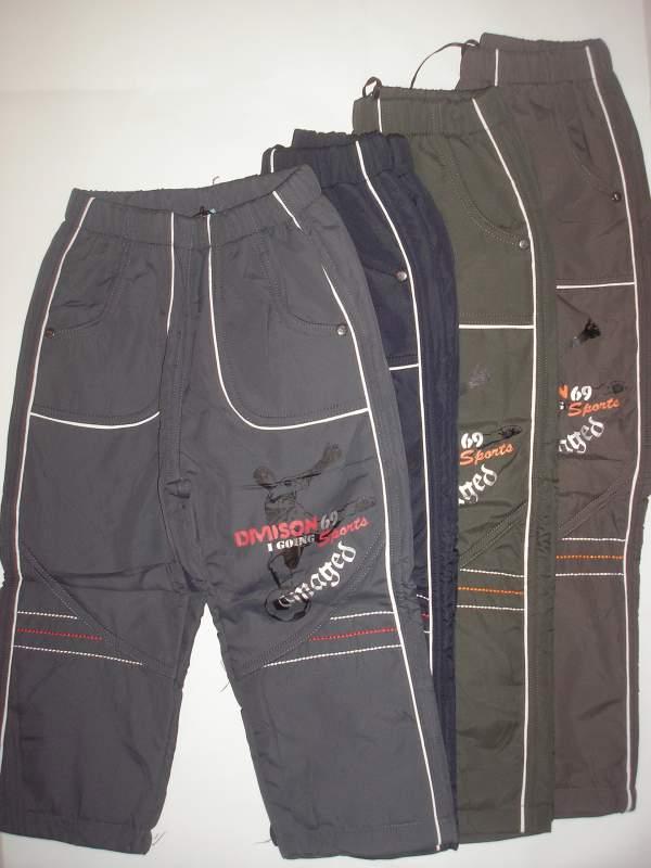 Утеплені спортивні штани на хлопчиків із плащовки B.S.T. 98-128 рр ... 6559024563d4b