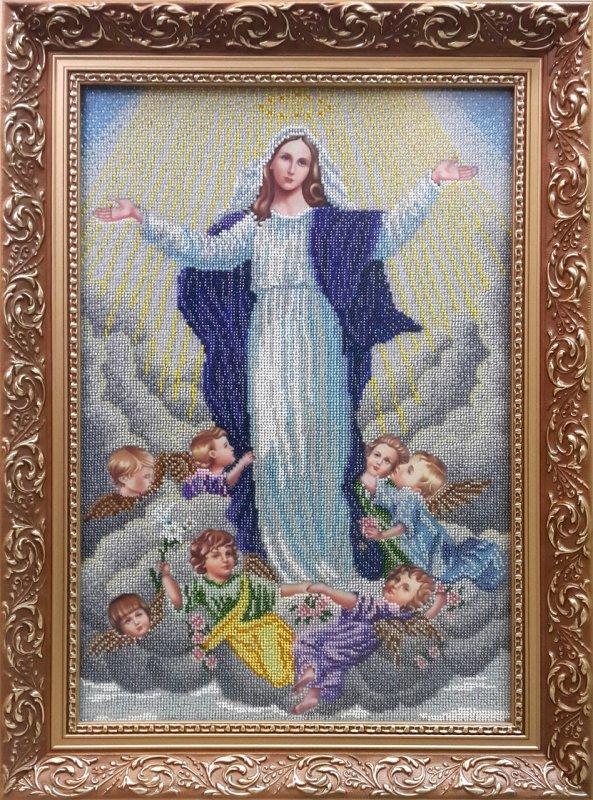 Купить ВДМн. Набір для вишивки бісером Вознесіння Діви Марії