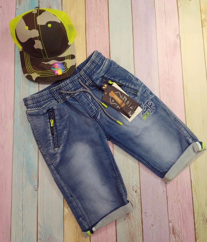 Купить Шорты джинсовые для мальчиков ZF,детские р 146-152