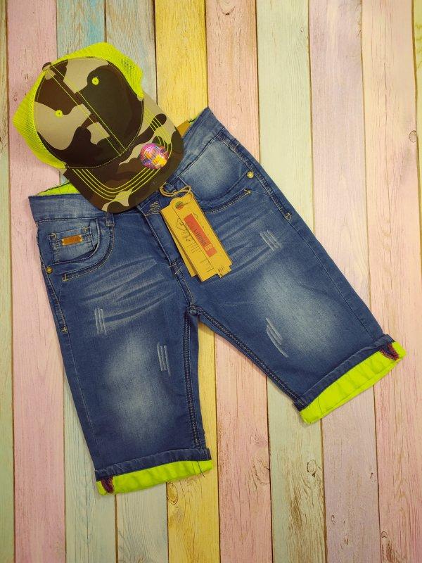 Купить Шорты джинсовые детские для мальчиков р 128-134-140-146-152