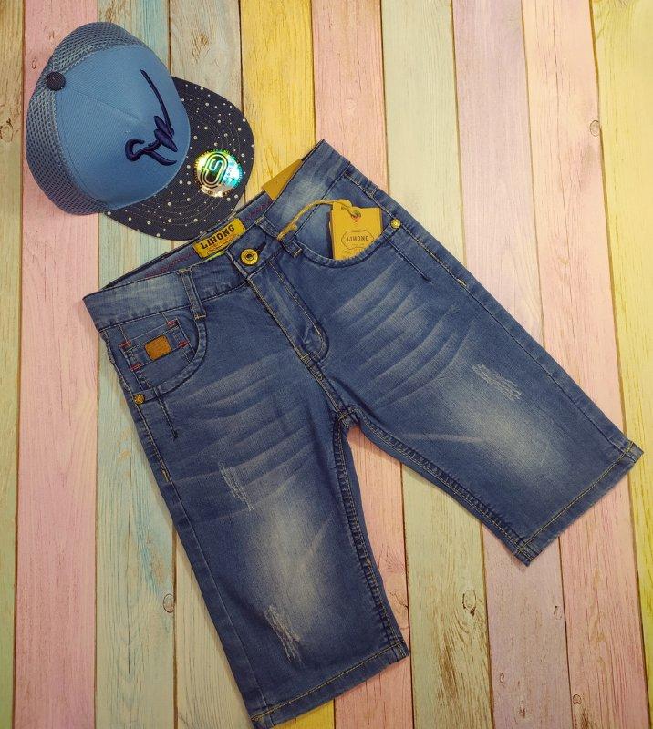 Купить Шорты джинсовые детские ,для мальчиков р 134-140-146-152