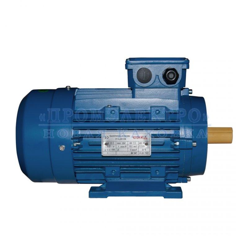 Купить Электродвигатель MS90L4 - 2,2кВт 1500 об/мин Малый фланец DIN