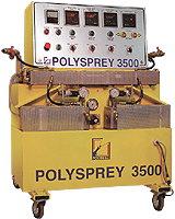 Купить Дозирующая установка высокого давления для напыления многокомпонентных химических систем POLYSPREY 3500