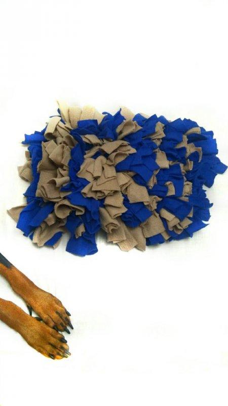Купить Развивающая игрушка ERYS Snuffle Mat 30*40 cине-коричневый