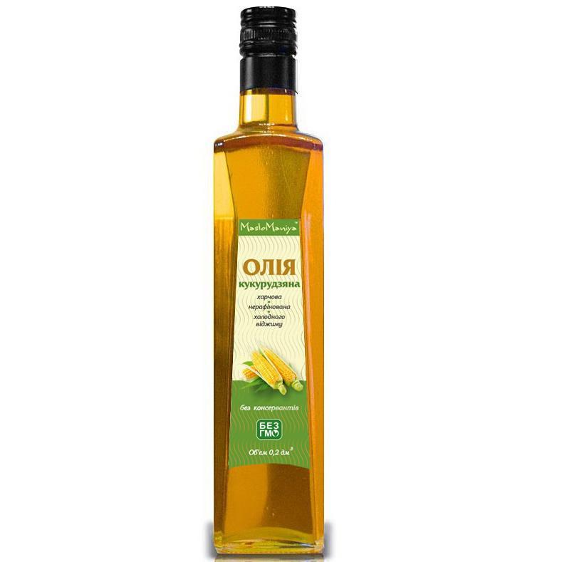 Купить Кукурузное масло 500 мл. 100 %