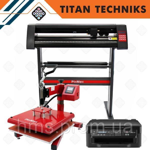 Купить Плоттер для резки пленки 720 мм термопресс 38 x 38 см